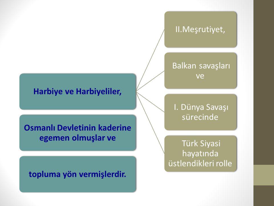 Harbiye ve Harbiyeliler, II.Meşrutiyet, Balkan savaşları ve