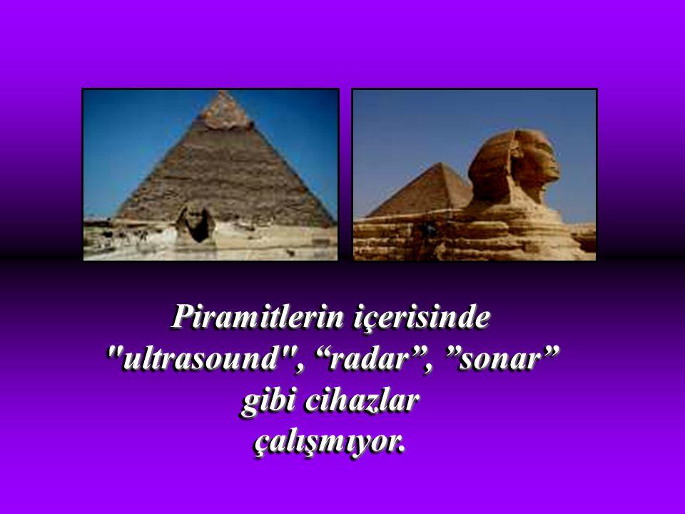 Piramitlerin içerisinde