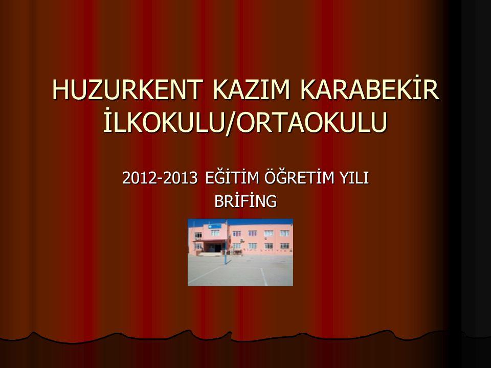 HUZURKENT KAZIM KARABEKİR İLKOKULU/ORTAOKULU