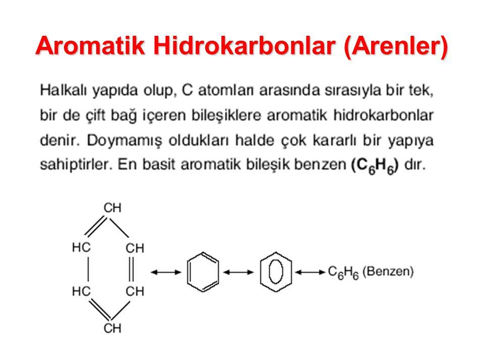 Aromatik Hidrokarbonlar (Arenler)