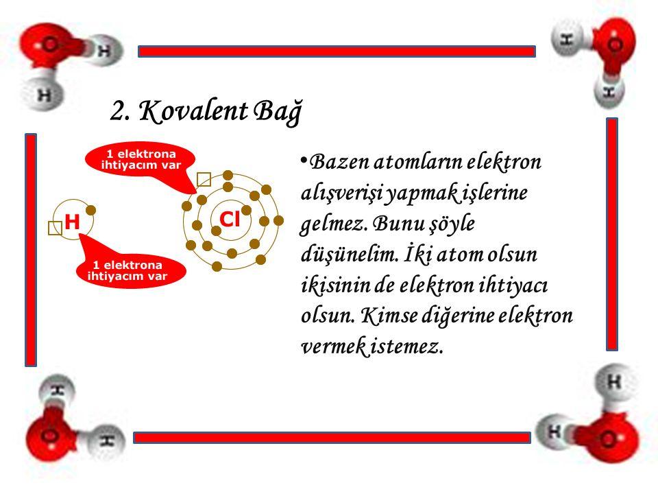 2. Kovalent Bağ