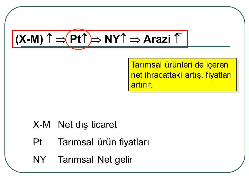 (X-M)   Pt  NY  Arazi 