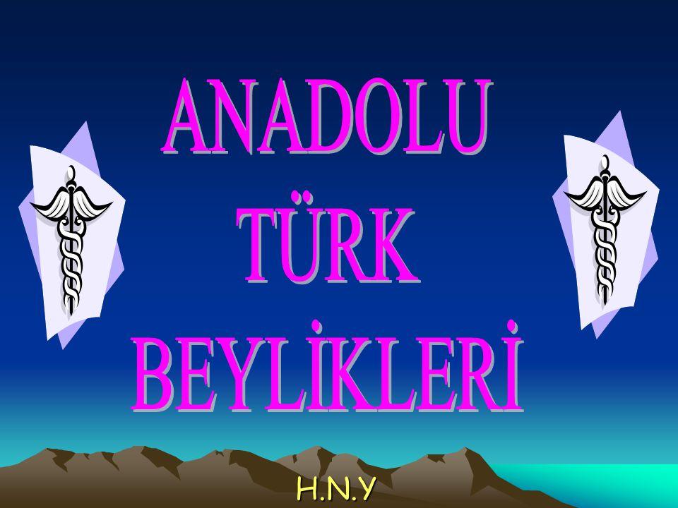 ANADOLU TÜRK BEYLİKLERİ H.N.Y