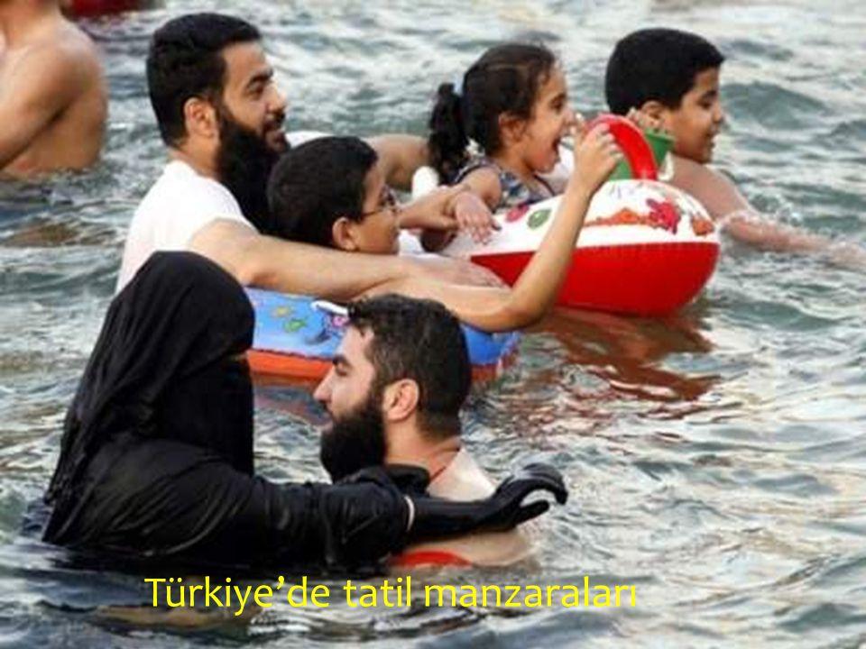 Türkiye'de tatil manzaraları