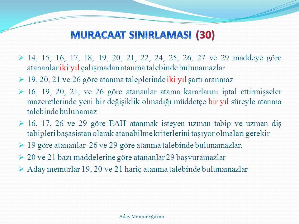 MURACAAT SINIRLAMASI (30)