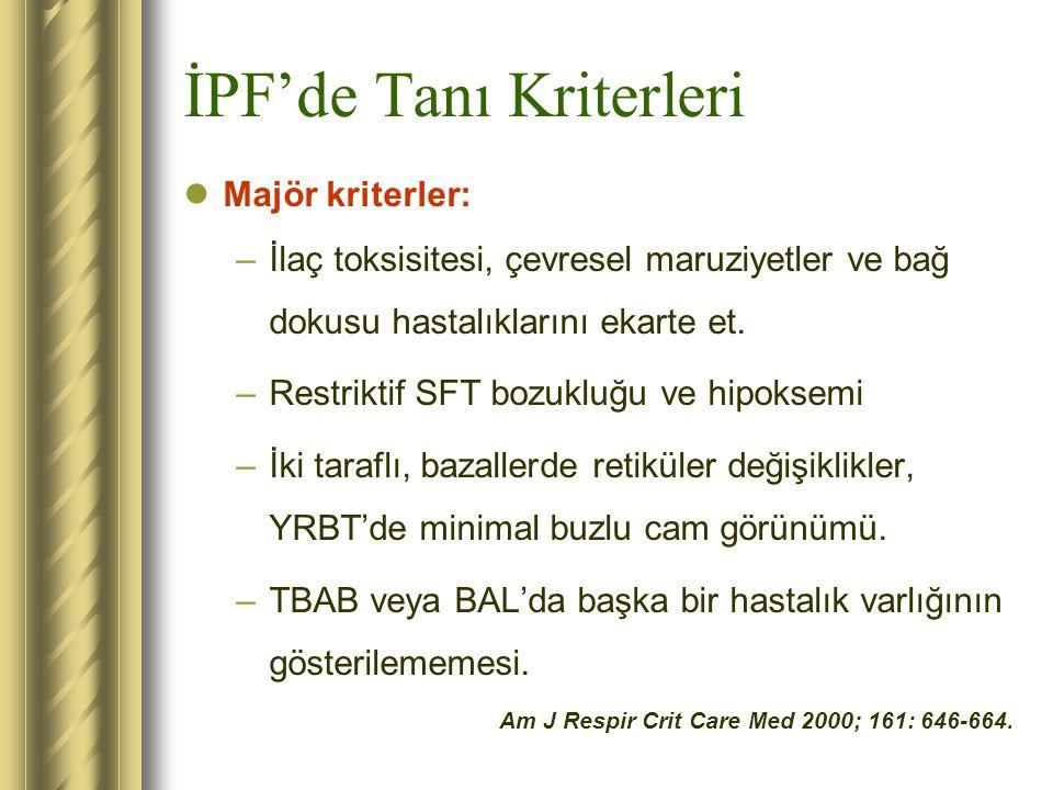 İPF'de Tanı Kriterleri