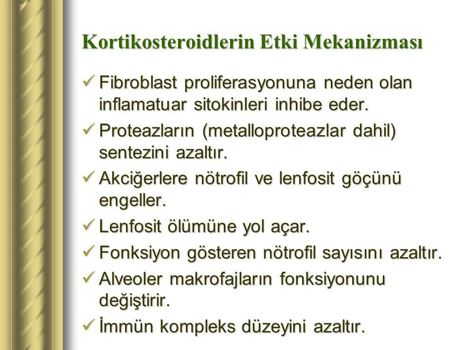 Kortikosteroidlerin Etki Mekanizması