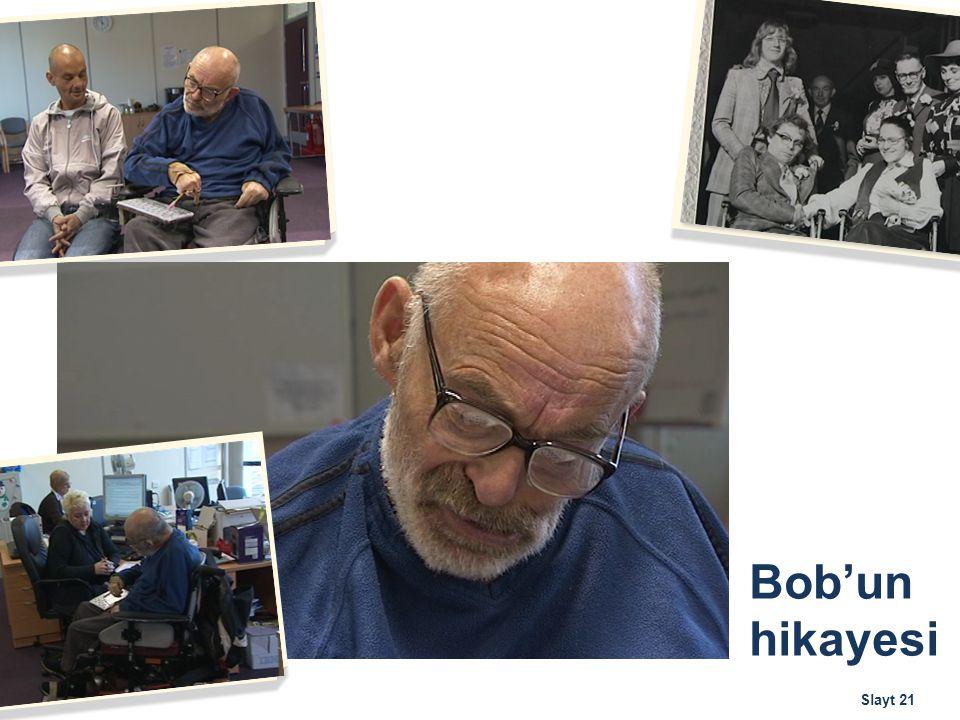 Bob'un hikayesi Slayt 21