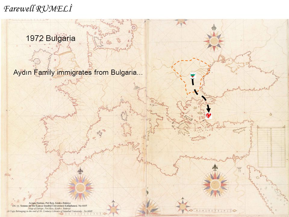 Farewell RUMELİ 1972 Bulgaria Aydın Family immigrates from Bulgaria...