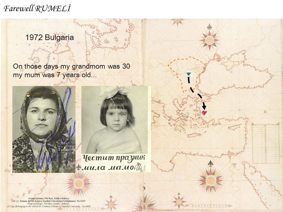 Farewell RUMELİ 1972 Bulgaria On those days my grandmom was 30