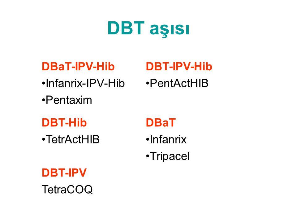 DBT aşısı DBaT-IPV-Hib Infanrix-IPV-Hib Pentaxim DBT-IPV-Hib