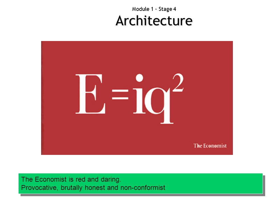Module 1 - Stage 4 Architecture
