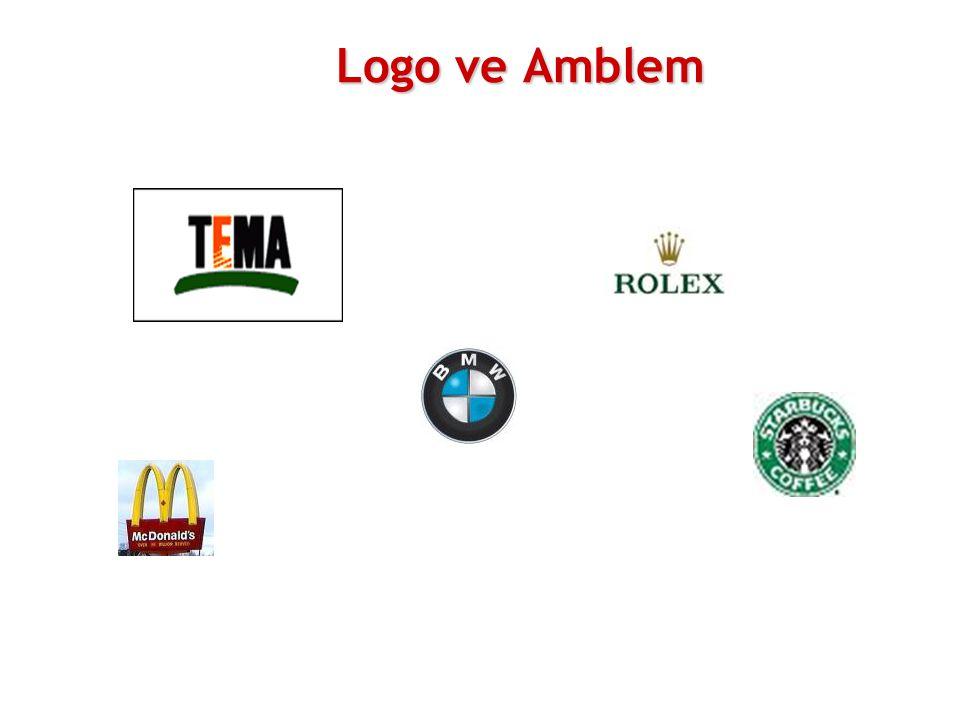 Logo ve Amblem % 55 oranında artırabilir.
