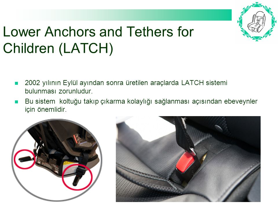 Lower Anchors and Tethers for Children (LATCH)