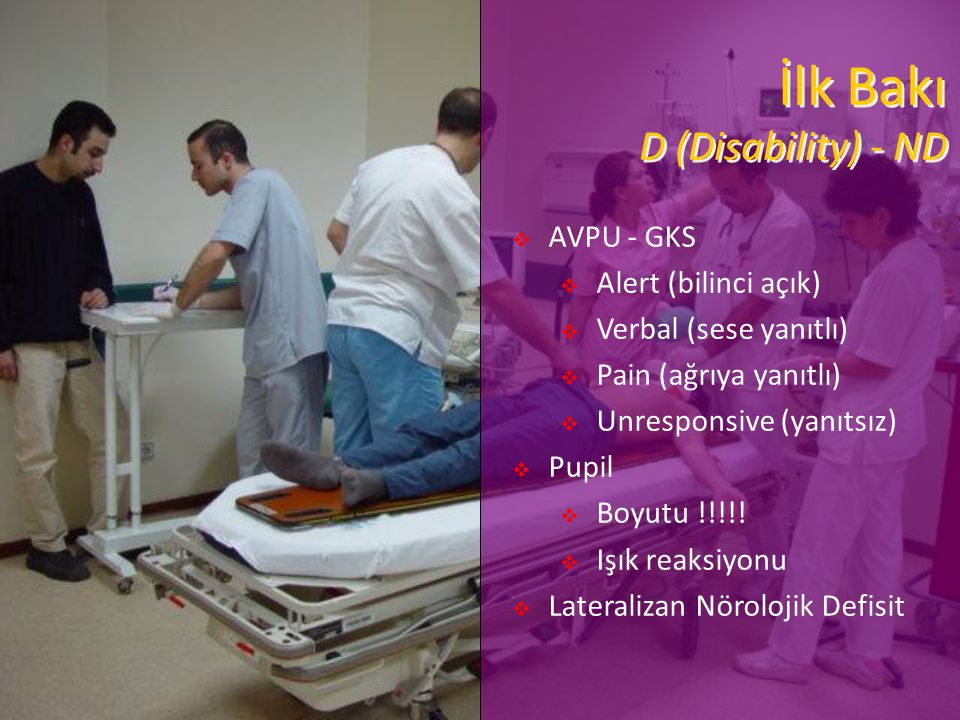 İlk Bakı D (Disability) - ND