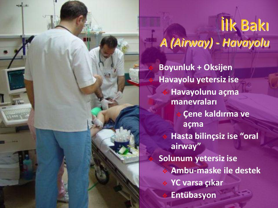 İlk Bakı A (Airway) - Havayolu
