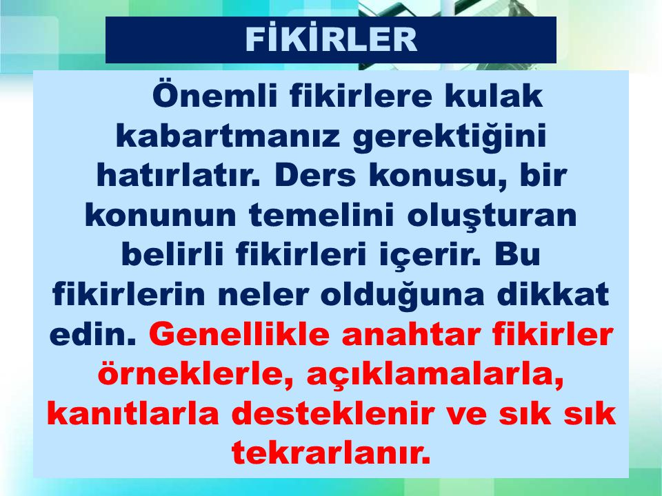 FİKİRLER