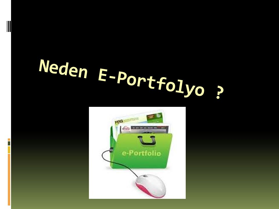 Neden E-Portfolyo