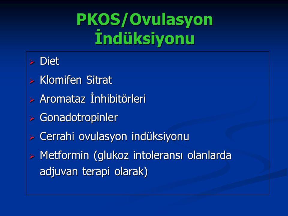 PKOS/Ovulasyon İndüksiyonu