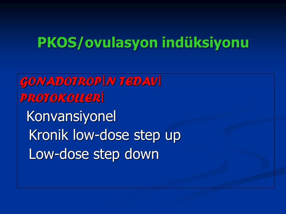 PKOS/ovulasyon indüksiyonu