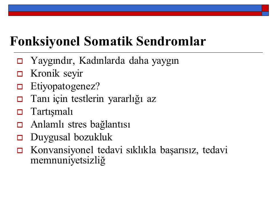 Fonksiyonel Somatik Sendromlar