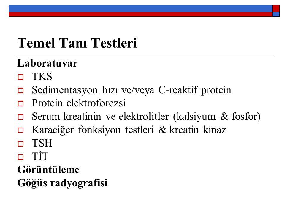 Temel Tanı Testleri Laboratuvar TKS