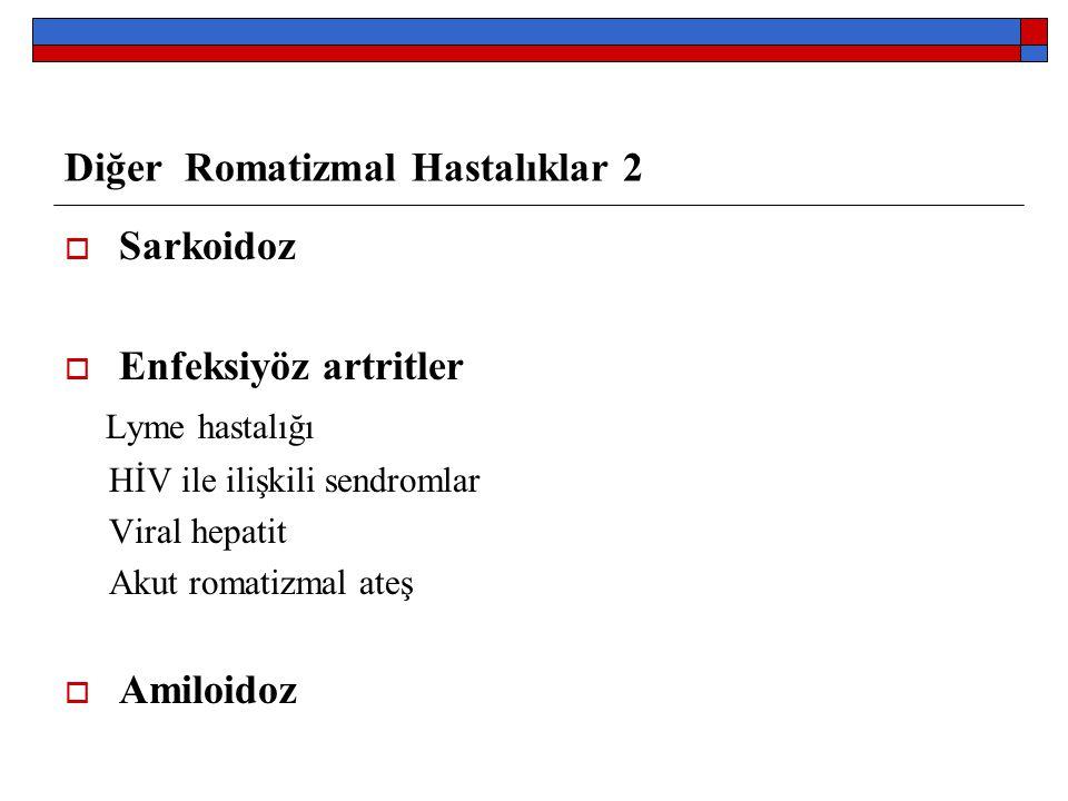 Diğer Romatizmal Hastalıklar 2
