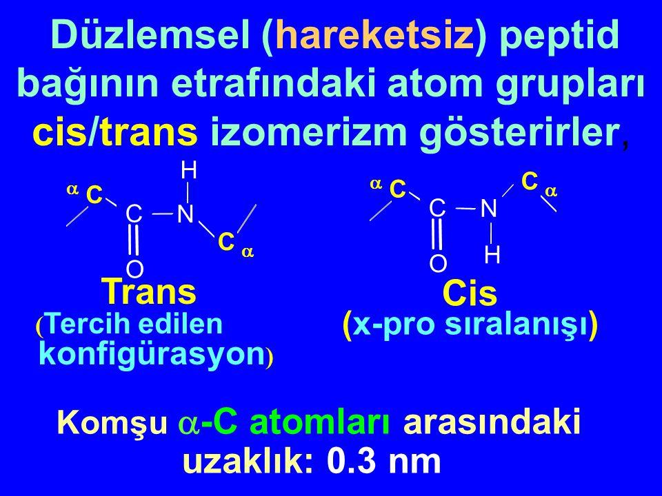 Komşu -C atomları arasındaki