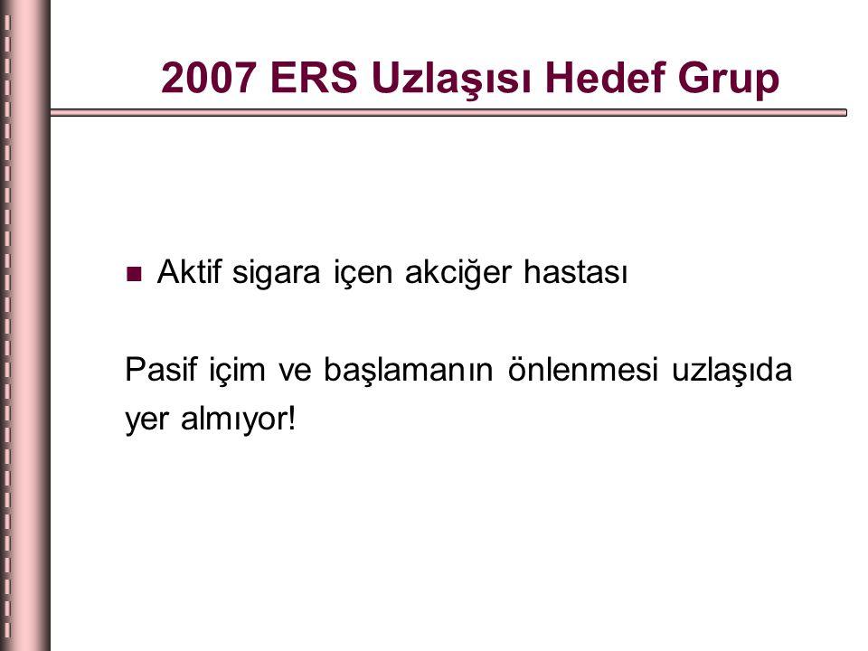 2007 ERS Uzlaşısı Hedef Grup