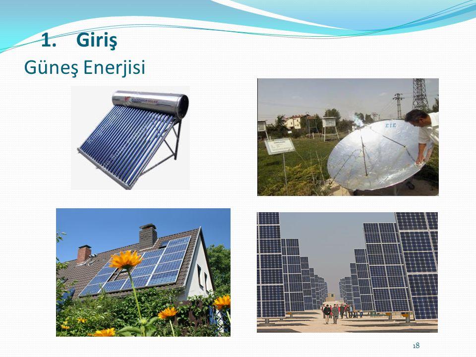 Güneş Enerjisi Giriş
