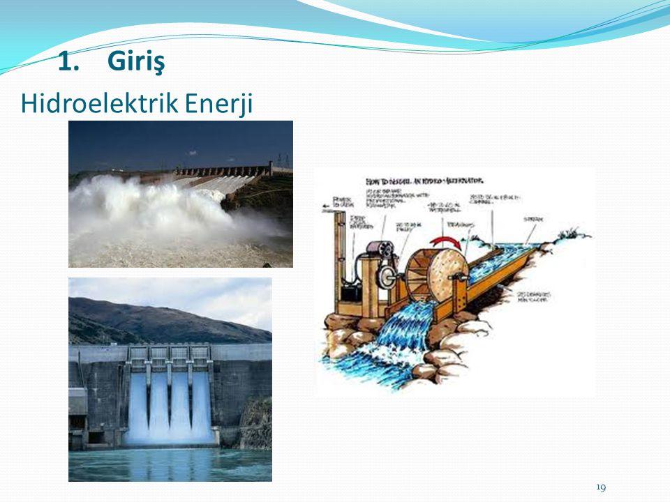 Hidroelektrik Enerji Giriş