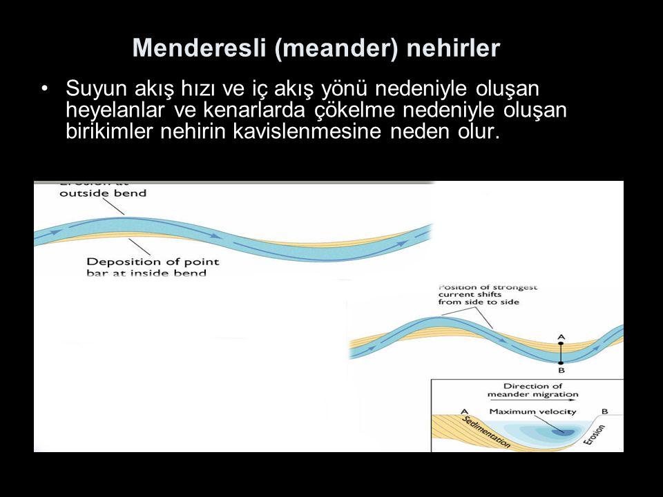 Menderesli (meander) nehirler