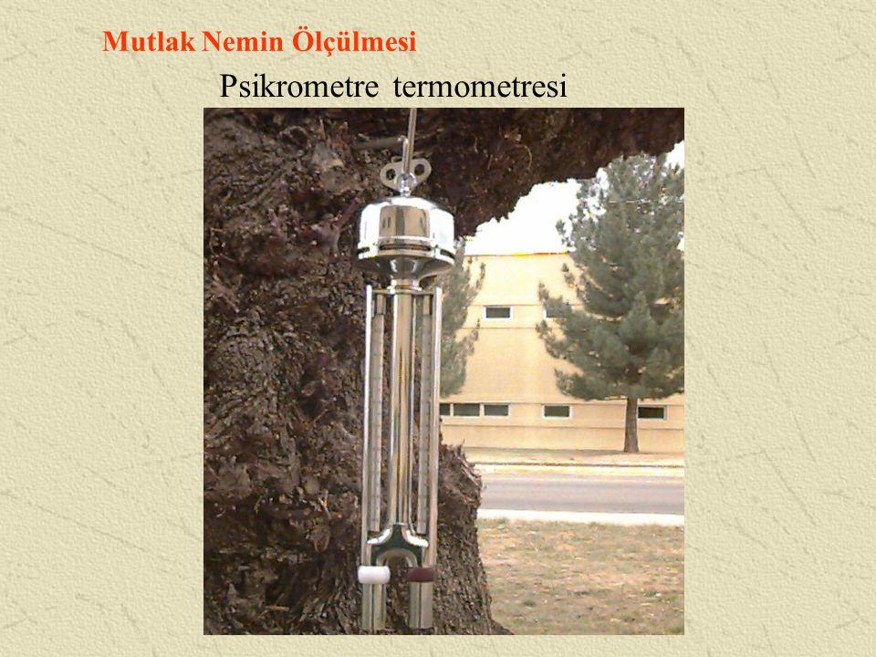 Psikrometre termometresi