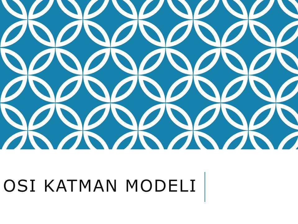 OSI Katman Modeli