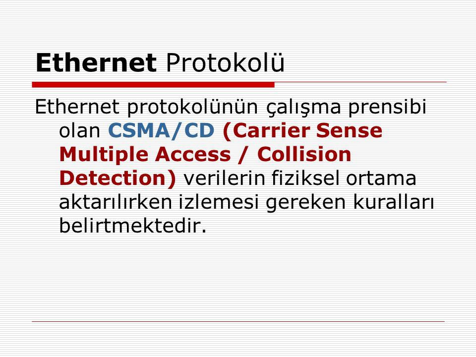 Ethernet Protokolü