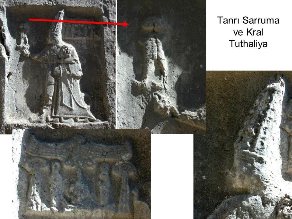 Tanrı Sarruma ve Kral Tuthaliya