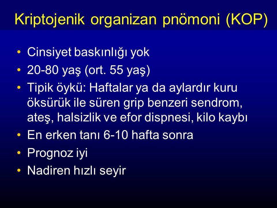 Kriptojenik organizan pnömoni (KOP)