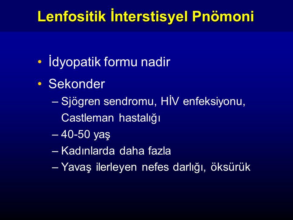 Lenfositik İnterstisyel Pnömoni