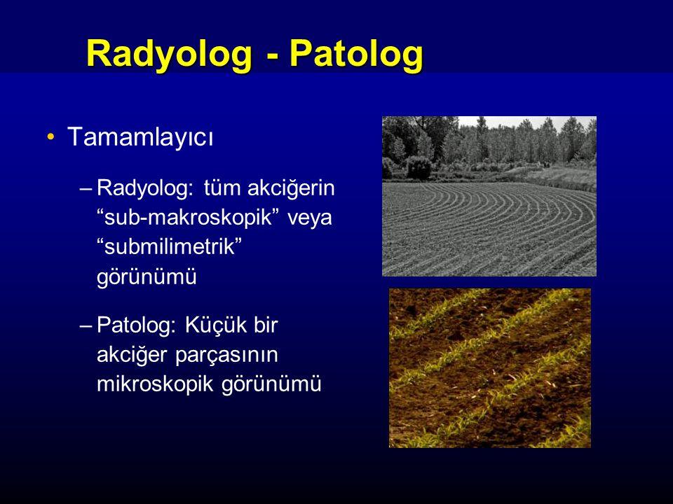 Radyolog - Patolog Tamamlayıcı