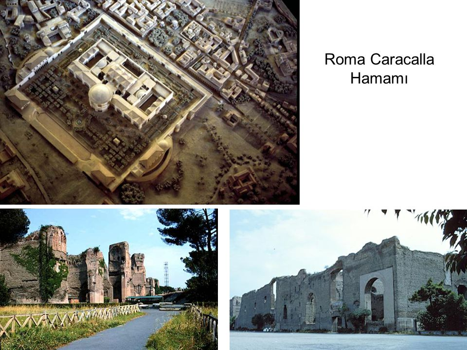 Roma Caracalla Hamamı