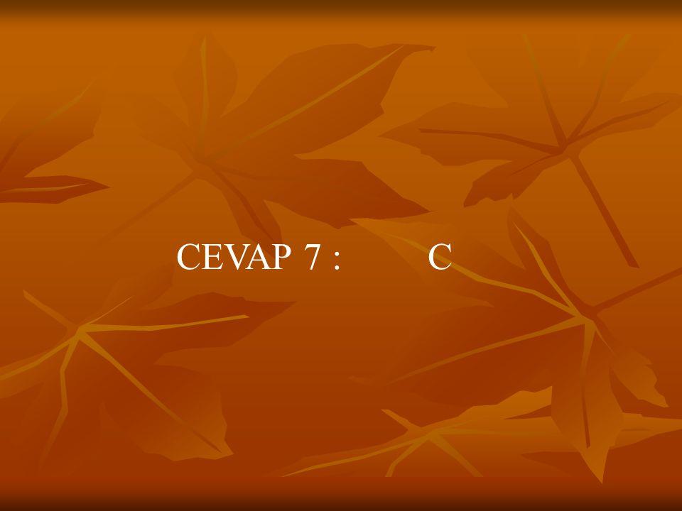 CEVAP 7 : C