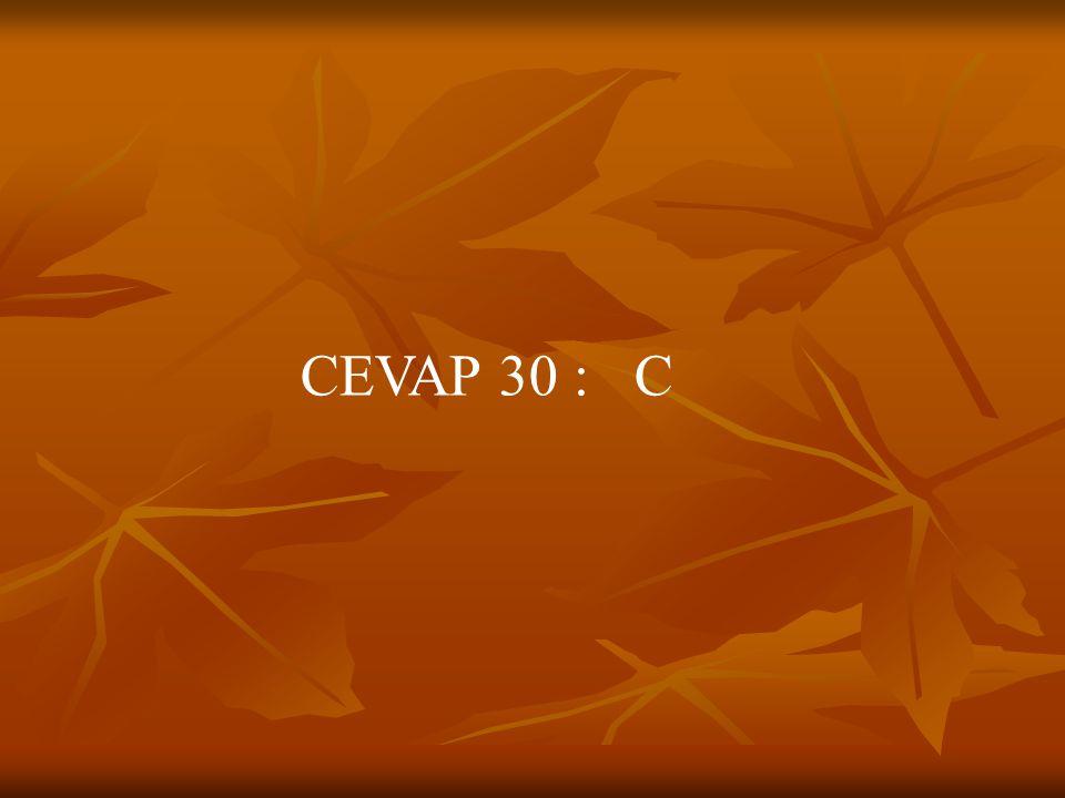 CEVAP 30 : C