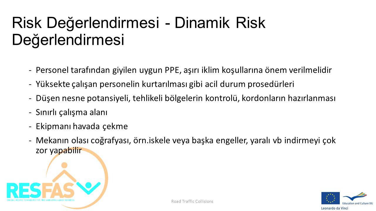 Risk Değerlendirmesi - Dinamik Risk Değerlendirmesi