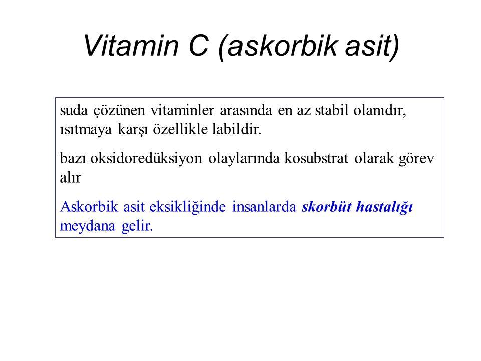 Vitamin C (askorbik asit)