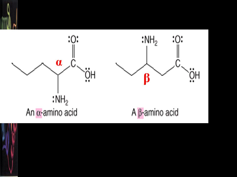 The amino group can be located on the hydrocarbon chain with a Greek letter, , , , or . Figure 25.1