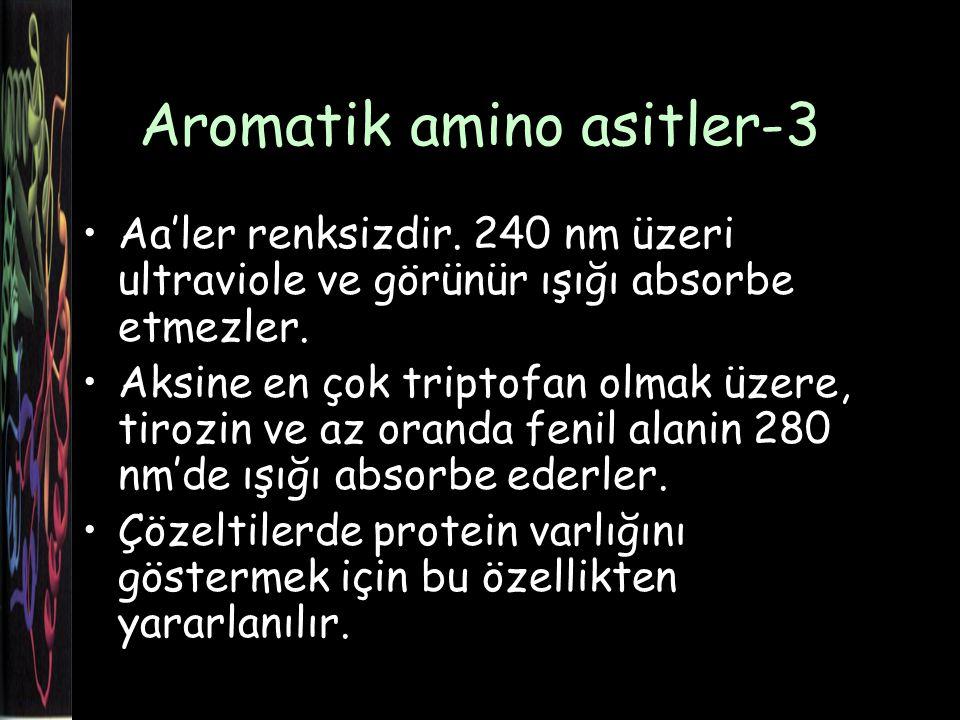 Aromatik amino asitler-3