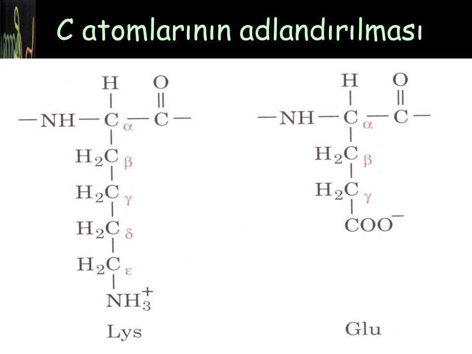 C atomlarının adlandırılması