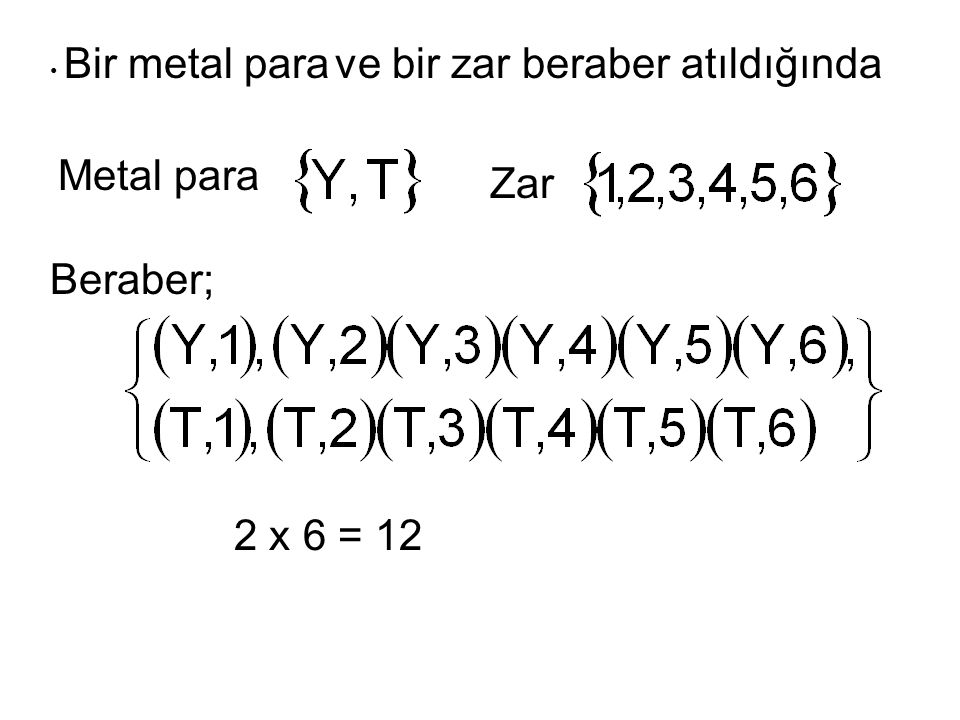 Metal para Zar Beraber; 2 x 6 = 12