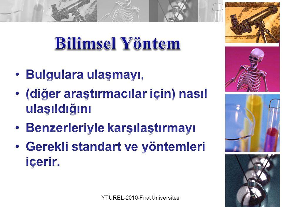 YTÜREL-2010-Fırat Üniversitesi