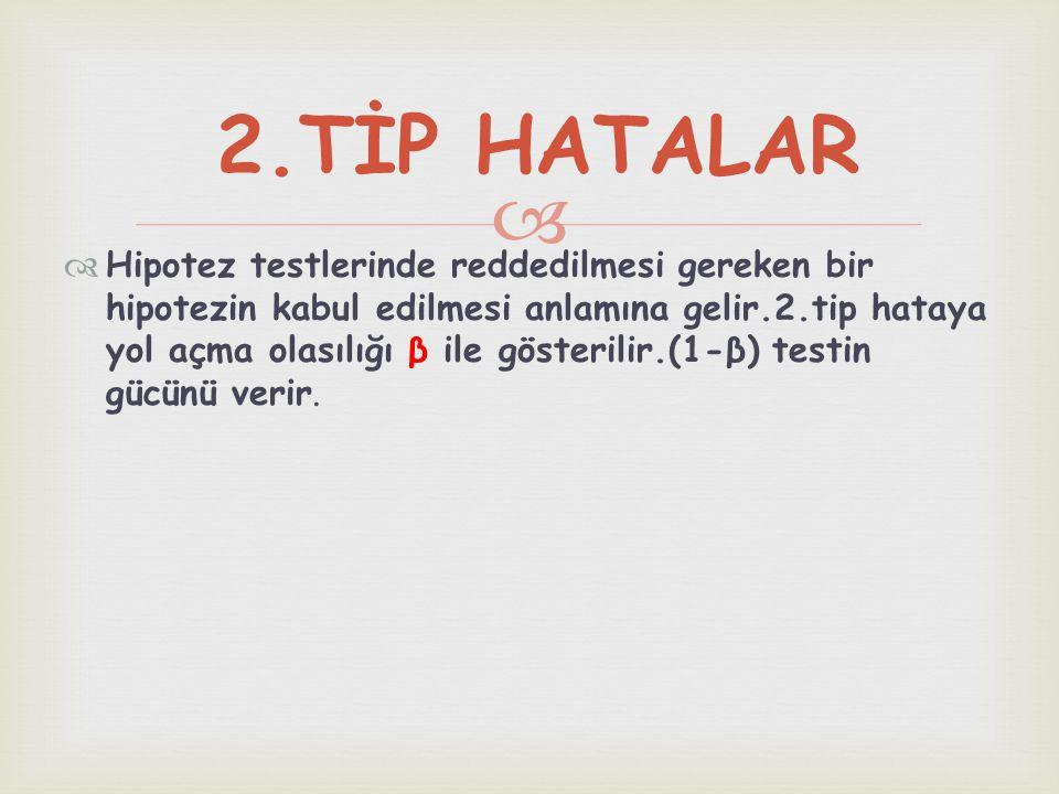 2.TİP HATALAR